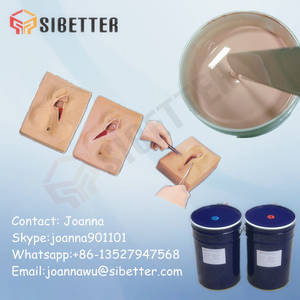 Wholesale hard sex: Soft Silicone Rubber Raw Material for Vagina Suture Model Making