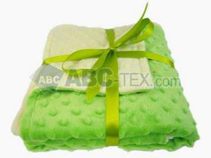 Wholesale cozy blanket: Minky Dot Baby Blanket