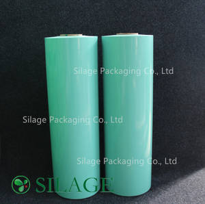 Wholesale Stretch Film: 750mm*1500m Green Silage Wrap Film