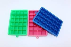 Wholesale silicone tray: Silicone Ice Cube Mould,Silicone Mini Cube Ice Cube Tray, Silicone Ice Tray 24 Cube