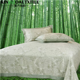 Wholesale cotton bedding comforter sets: 4 PCS Adult Durable and Comfortable Bamboo Bedding Sets