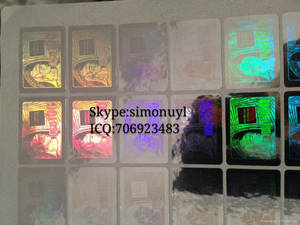 Wholesale Other Security & Protection Products: AMEX Hologram Sticker 3D Effect Waterproof