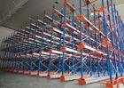 Wholesale heavy duty storage racks: Semi Automatic Heavy Duty Storage Racks 50 Pallets Deep Shuttle Storage System