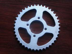 Wholesale Motorcycle Transmissions: 45# Steel AX100 Motorcycle Chain Sprocket