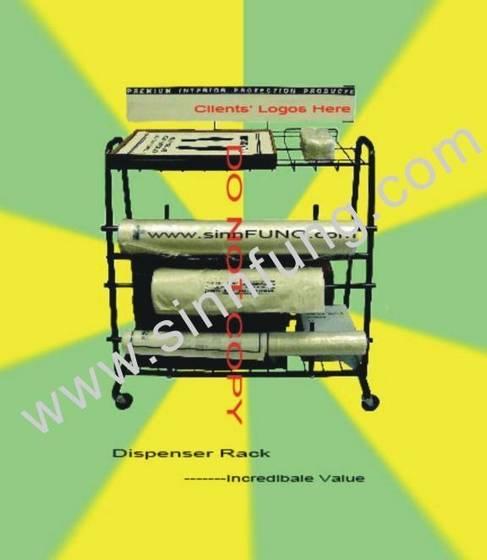Paper Floor Mat Dispenser Rack From Sinnfung Global Co
