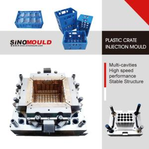 Wholesale Transport Packaging: Single Cavity Bottle Crate Mould