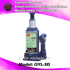 Wholesale auto repair tools: 3 T Hydraulic Bottle Jack 3 Ton Hydraulic Jack Lifting Tool Auto Repair Jack 3 Ton