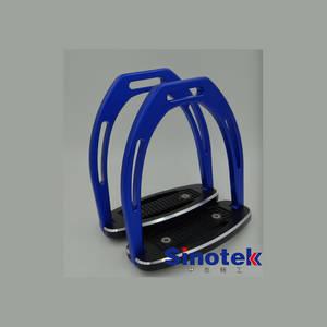 Wholesale Horse Racing: Blue Aluminium Horse Stirrups