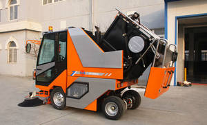Wholesale water cannon: Outdoor Almighty Road Sweeper, Street Sweeper, Outside Cleaning Sweeper, Road Sweeper