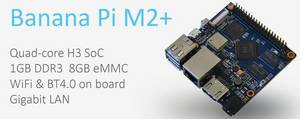 Wholesale pies: H3 Quad-core Banana PI M2 Plus Shipping From China