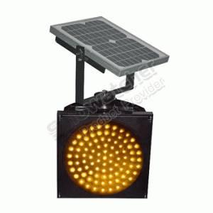 Wholesale flash light: 300mm Solar Yellow Flashing Light