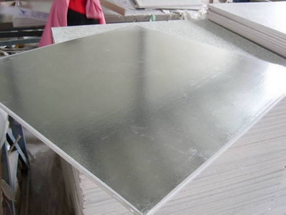 Foil Backed Gypsum Board : Sell pvc laminated gypsum board with aluminium foil back