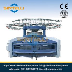 Wholesale Knitting Machinery: Double Jersey Open Width Circular Knitting Machine