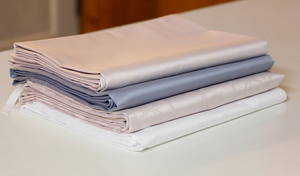 Wholesale bed sheet set: High Quality 100% Tencel Solid Color Bed Sheet Set