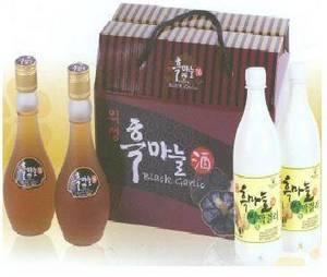 Wholesale rice liquor: Sell Sinvian Uiseong Black Garlic Liquor