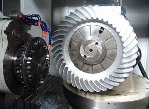Wholesale heavy rail: 1300mm Diameter of the Rail Transport, Heavy Vehicles and Ship Propeller Spiral Bevel Gear Presentat