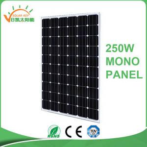 Wholesale solar cell: 2016 Price Per Watt  250W Mono Best Performance Solar Cells