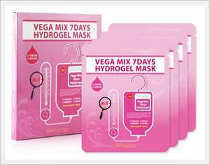 Wholesale hydrogel mask: SKINFACTORY VEGA MIX HYDROGEL MASK 4EA - 1box