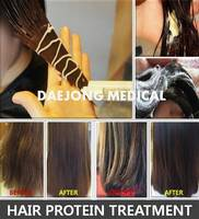 Hair protein treatment leads to