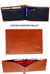 Wholesale passport wallet: Leather Passport Wallet