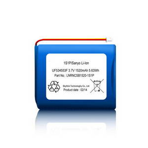 Wholesale battery pack: High Efficient and Safety 1520 Mah Li-ion Battery Pack