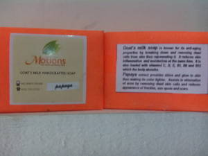 Wholesale papaya soap: Handcrafted Goat's Milk Soap - Papaya
