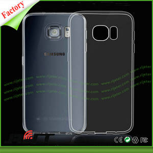 Wholesale china mobile phone: China Factory Ultra Slim Transparent TPU Mobile Phone Cases for Galaxy S7