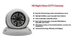 Wholesale CCTV Camera: 1/3COMS 1000TVL HD Dome CCTV Cameras