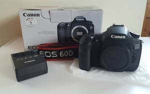 Wholesale game accessory: Original Canon EOS 60D 18.0MP Digital SLR Camera Buy 2unit Get 1unit Free