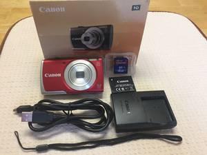 Wholesale box cameras: Sealed in Box Canon PowerShot A2500 16.0 MP Digital Camera with Full Kits Original