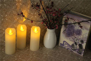 Wholesale led lighting: Flamless LED Candle Light with Dancing Flame
