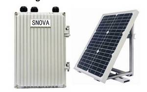 Wholesale solar power station: Remote  Wireless Communication Terminal of Overhead Type Earth and Short Circuit Fault Indicator