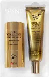 Wholesale carnauba wax: Snp Gold Collagen Ampoule Stick Special Set