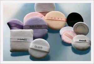 Wholesale Makeup Tool: Cotton Velour Puff