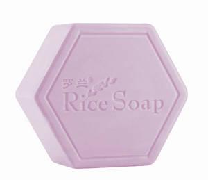 Wholesale black rice: Black Rice Bath Soap with Amino Acid for Restoring Skin Vitality