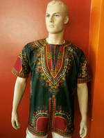 Kurta Tunic Men Shirt Dashiki Must Have So Colored Shirt Art Green for Men Dashiki/ 2015 Trendy Gift