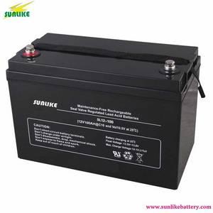 Wholesale ups battery: 12V 100ah UPS Deep Cycle Battery AGM Lead Acid Battery