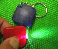 Sell PVC keychain light, money tester