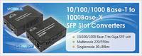 Gigabit Ethernet Converters Witfh SFP Slot