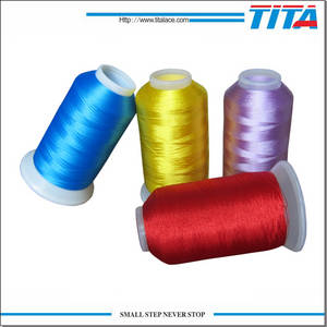 Wholesale embroidery machine thread: 100% Polyester Embroidery Thread for Machine