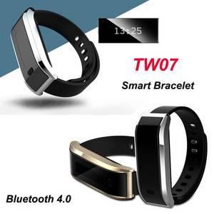 Wholesale silicone watch: Smart Bracelet Silicone Wristband, Intelligent Sport Strap Smart Watch  Waterproof Bracelet  TW07
