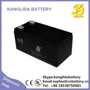 Wholesale ups battery: 12v Rechargeable Long Life Exide UPS Electric Fence Battery 3.3ah