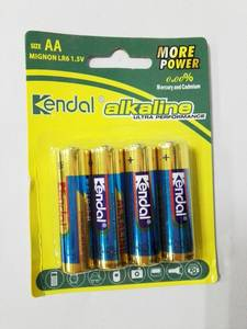 Wholesale sexs film: LR6 AM3 AA 1.5V Alkaline Battery in Blister Card