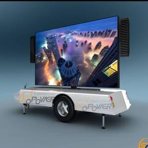 Wholesale Other Advertising Equipment: SoPower Mobile Digital LED Trailer Itrailer 6