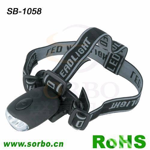 LED Headlight for Outdoor Lighting or Camping SB-1058 - Zhejiang ...