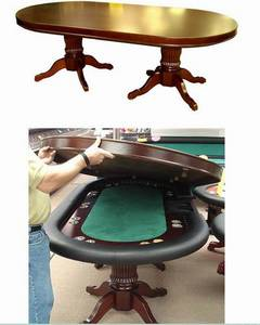 Wholesale dining room table cloth: Solid Wood Poker Dining Table