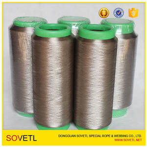 Wholesale sewing thread: Silver Fiber Blended Conductive Sewing Thread