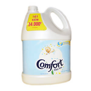 Wholesale import: Comfort Concentrate Fabric Conditioner Pure (4 L)