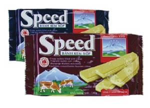 Wholesale wafer: Speed Cream Wafer 140 Gram