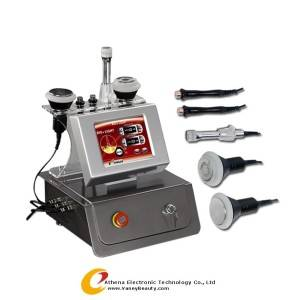 Wholesale radio frequency therapy: AT-1207 Cavitation Skin Tag Removal Machine, RF Fat Burning Machine